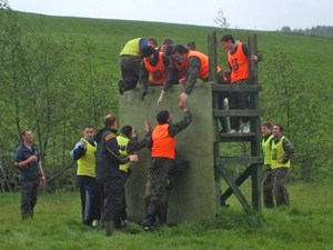 Team Building at Extreme Adventure, Letterkenny