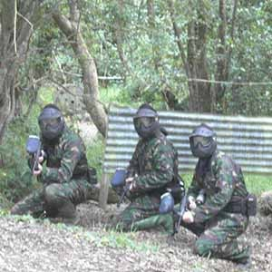 Paintballing in Letterkenny